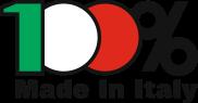 Logo 100% Made in Italy - attestato di certificazione della Camera di Commercio