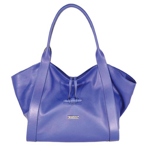 Una borsa in pelle della linea MINNOZZI di Artpelle