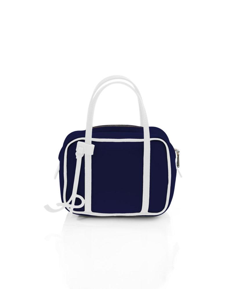 Shoulder è una borsa da donna in materiale effetto neoprene della linea BASIC di AP bag - by Artpelle