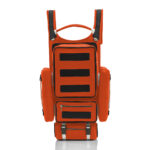 Tron Backpack unisex is an incredible handmade backpack with a neoprene effect material.