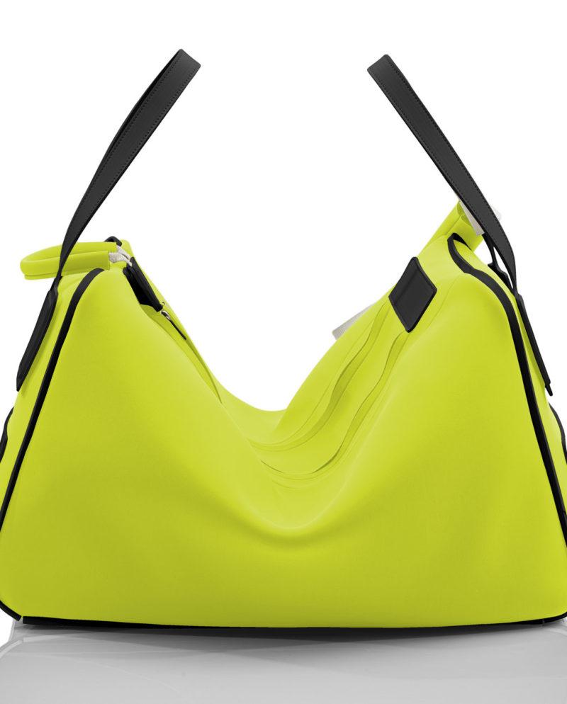 Gym Bag Tron è una borsa unisex della linea AP di Artpelle