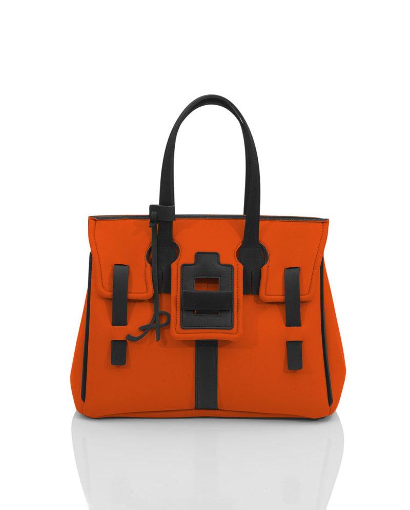 Borsa da donna Flap Shopper Gala. Un modello della linea GALA, collezione AP di ArtPelle