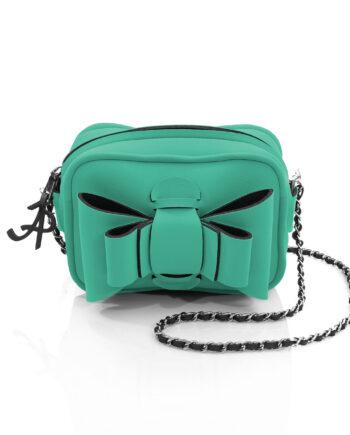 Shoulder Chérie è una borsetta in materiale effetto neoprene della linea Chérie di AP bag - by Artpelle