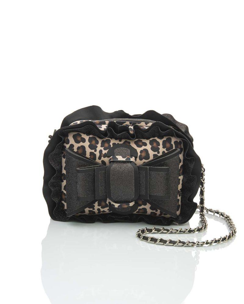 Shoulder è una borsetta in materiale effetto neoprene della linea Leo Chérie di AP bag - by Artpelle