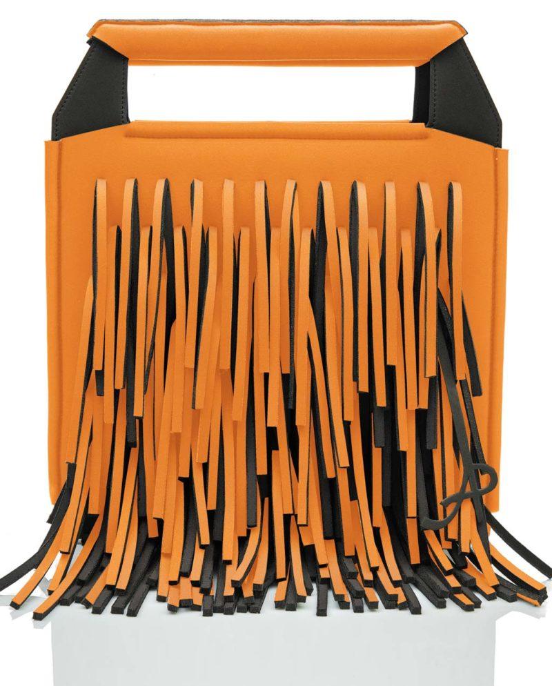 Shopper è una borsa in materiale effetto neoprene della linea BIG BANG di AP bag - by Artpelle
