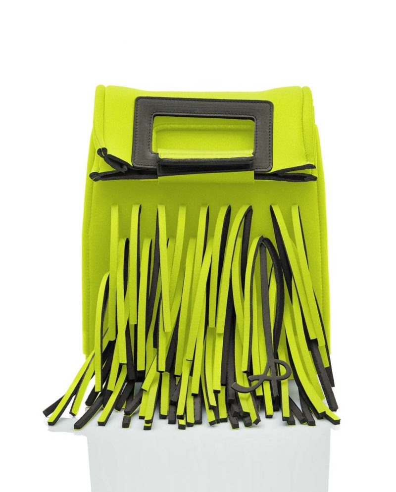 Zaino è una borsa in materiale effetto neoprene della linea BIG BANG di AP bag - by Artpelle